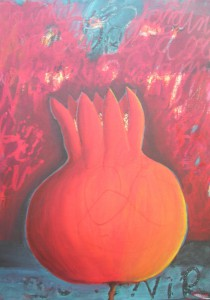 """""""Souvenir I"""", Acryl und Ölkreide auf Leinwand, 2013"""