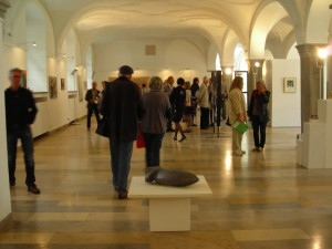 """""""Unterwegs"""" - Jahresausstellung des BBK Schwaben-Süd, Residenz Kempten, 2015"""
